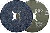 RS PRO Aluminium Oxide, 115mm, P80 Grit, 25