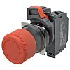 Omron A22NE, Red, Turn Reset 30mm Round Head