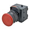 Omron Panel Mount E-Stop - Pull Reset, 22mm