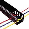 Betaduct Black Slotted Panel Trunking - Closed Slot,
