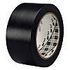 3M 764 Black lane marking tape 50mm x