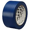 3M Blue Polyvinyl Chloride Tape, 50mm x 33m