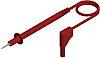 Hirschmann Test & Measurement, 16A, Red, 19mm Lead