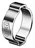 Oetiker Zinc Plated Steel O Clip, 6mm Band