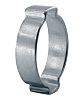 Oetiker Zinc Plated Steel O Clip, 7.5mm Band