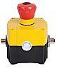 Allen Bradley Push Button Head - 2NC/1NO, Twist