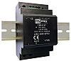 AC, DC dc DIN-sín tápellátás 54W, 1 kimenet, 4.5A 58mm 120 → 370 V dc, 85 → 264 V ac 12V