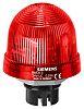 Builtin luminaire flashlight, 230V, red