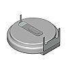 Murata CR2450 Coin Battery, 3V, 24.5mm Diameter