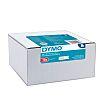 Dymo Black on White Label
