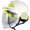 Delta Plus White Helmet with Chin Strap, ,