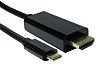 RS PRO USB C to HDMI USB Cable,