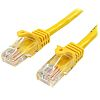 Startech Yellow PVC Cat5e Cable UTP, 3m Male