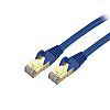 Startech Cat6a Cable 300mm, CMG Rated, Blue, RJ-45