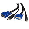 10 Ft. USB+VGA 2-in-1 KVM Switch Cable