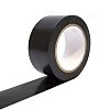 COBA Black PVC 50mm Hazard Tape, 33m x