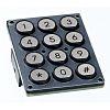 APEM IP65 16 Key ABS Illuminated Keypad