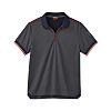 Parade OLLEY Grey Men's Short Sleeved Polo, UK-