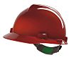MSA Safety V-Gard Red Hard Hat