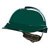 MSA Safety V-Gard 200 Green Hard Hat, Ventilated