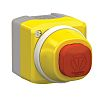 ILL. EMERGENCY STOP CONTROL BOX 230V RED