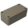 ABS MOULDED BOX, 100X50X40MM, GREY
