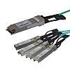 Startech, Cisco QSFP4X10AO15 Compatible SFP QSFP+ breakout cable