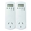 HPM Digital Plug-In Time Switch 240 V ac