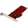 StarTech.com 2 port M2 B-key PCI Express RAID Controller Card, Controller Card