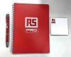 RS PRO A5 Wirebound Semi-Rigid Stationery Kit Ruled