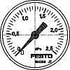 MA-50-2,5-1/4-EN pressure gauge