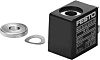 Festo 4.1W Replacement Solenoid Coil, Compatible With MSSD-F