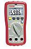 Multímetro digital Sefram 7204, 600V ac/600V dc, 10A ac/10A dc