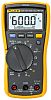 Fluke 117 Handheld Digital Multimeter With RS Calibration,