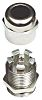 SIB WADI-TEC M25 Cable Gland, Nickel Plated Brass,