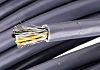 Nexans 7 Core Screened Braid, Foil Industrial Cable,