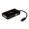 Startech USB C to DVI, HDMI, VGA Adapter,