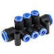 Pneumatic Manifold Tube-to-Tube Fittings
